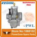Racing Motorcycle Dirt Pit Bike Performance Modified Racing Parts KEIHIN PWL Carburetor 28mm  Free shipping