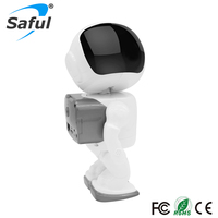 Saful Wireless Robot IP Camera HD 960P 1.3MP CMOS Wifi CCTV P2P Audio Home Security Cam Remote with IR Night Vision hot sale