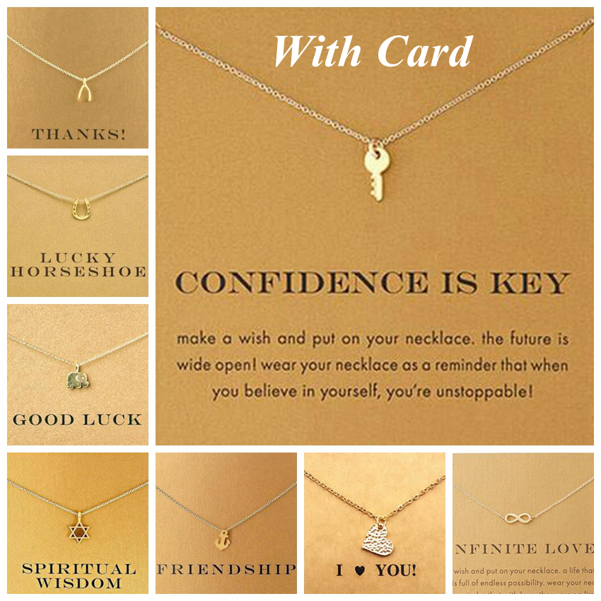 Dogeared Elephant Key Star Infinity Anchor Unicorn Sun Choker Necklace Chocker Colar Necklaces & Pendants Chokers Women 2017 C38
