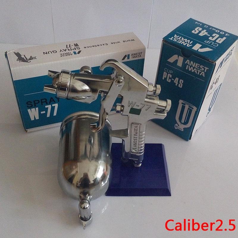W77 High On Pot Pneumatic Spray Gun Atomization Latex Paint