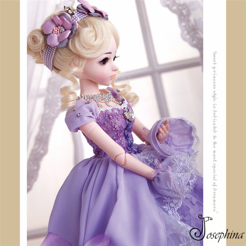 60cm Luxury Josephina-Doris-Series SD BJD Fashion Girl Dolls 1/3 Ball Joint Resin Kit Yosd Luts Volks Soom Suprise Gift for Girl