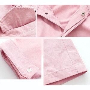 Image 5 - Spring Autumn Jacket For Girls Hoodies Coat Teenage Children Outerwear Girls Clothes Raincoat Windbreaker 4 6 8 10 12 14 15 Year