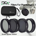 DJI phantom 4 3 Camera lens Filter ND4 ND8&CPL ND16 CPL Filter Case bag Professional Advanced Camera Accessory
