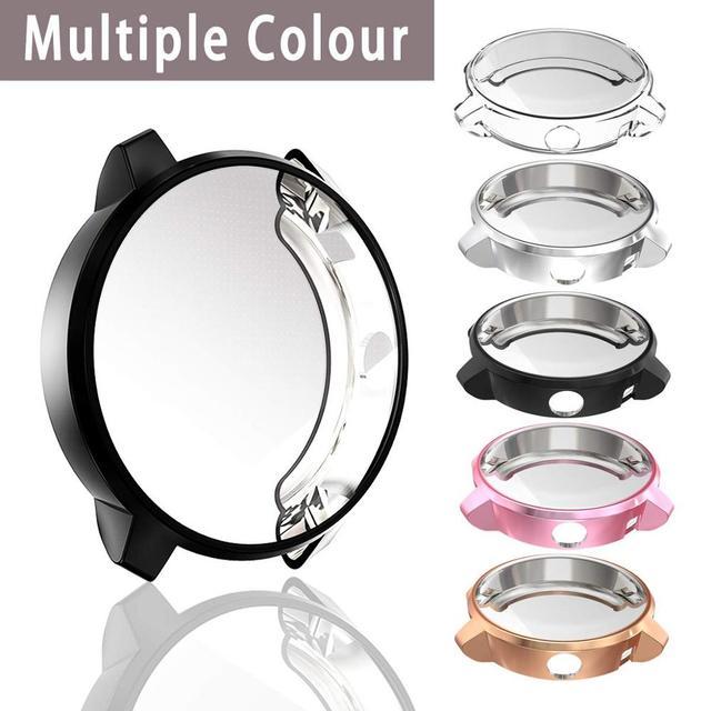 Nieuwe Hoge Kwaliteit TPU Slim Smart Horloge Beschermhoes Cover voor Garmin Vivoactive 3 3 Muziek Frame Smartwatch Accessoires