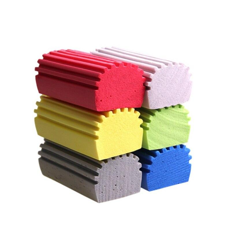 Multi Functional PVA Sponge Car Kitchen Magic Clean Brush Candy Color Cleaning Sponge