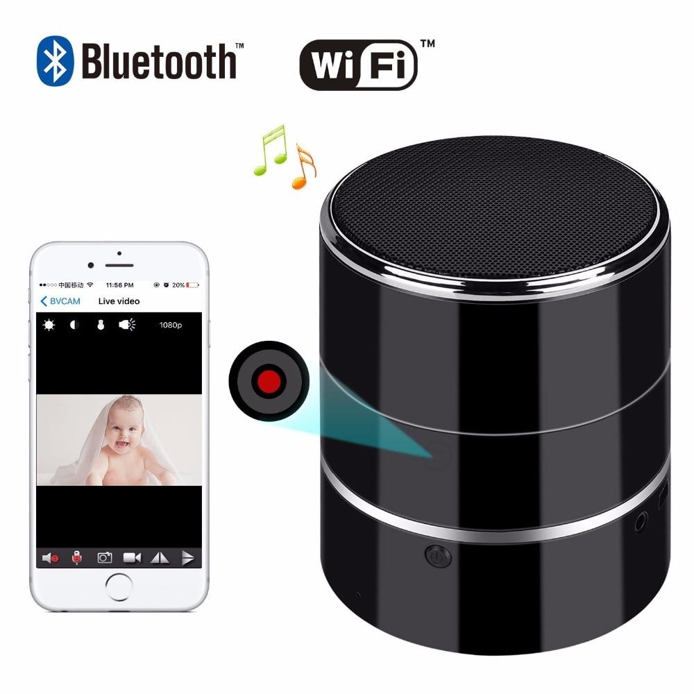 Reproductor de música Bluetooth cámara HD 1080P WIFI Altavoz - Cámara y foto