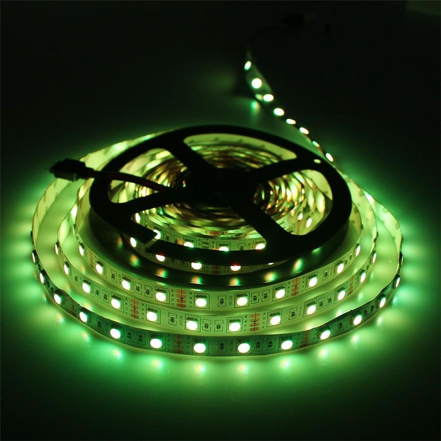 RGB жарық диоды 5050 SMD 60LEDs / M 5M LED жол шамы - LED Жарықтандыру - фото 6