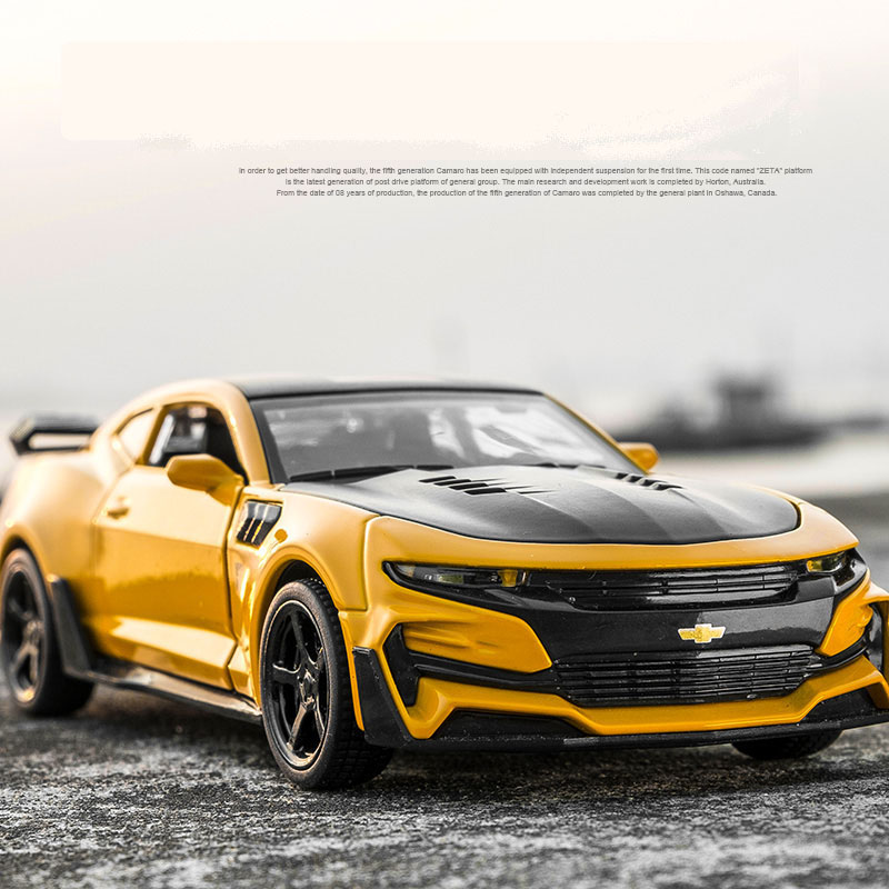 1/32 toy vehicles the fast and the furious chevrolet camaro bumblebee car model collection car toys for children christmas gift