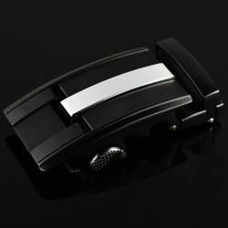 3,5 см ширина Пряжка для мужского ремня головы мужской ремень из коровий кожы белый черный металл, Пряжка Бизнес CE25-0304