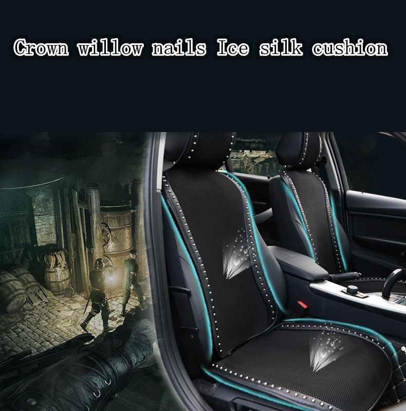 Crown Car Seat Cushion, Breathable Auto Seat Covers
