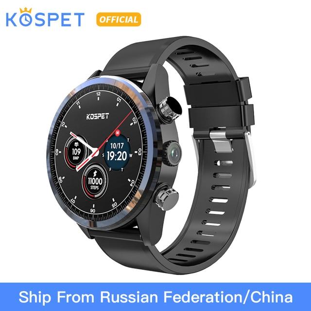 "KOSPET Hope 3GB 32GB Bluetooth Android 7.1.1 1.39""  4G smartwatch men IP67 Waterproof MT6739 Camera Business Smart Watch Phone"