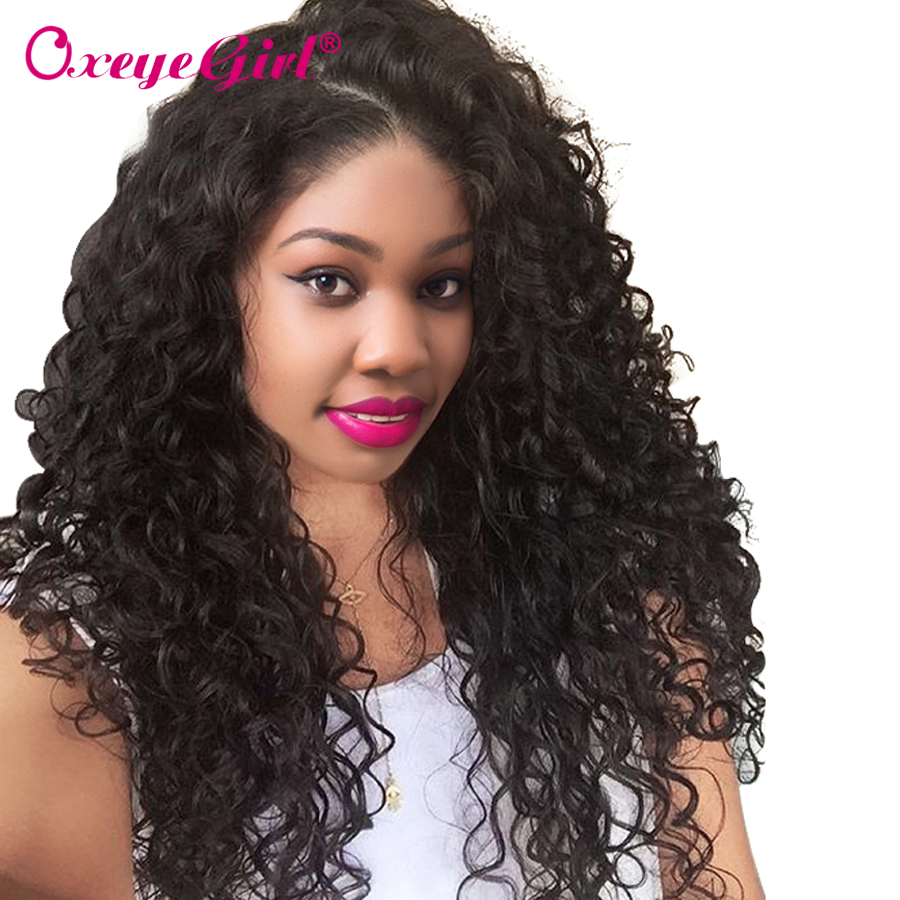 Deep Wave Wig Full Lace Wigs Human Hair With Baby Hair Full Lace Frontal Wig Brazilian