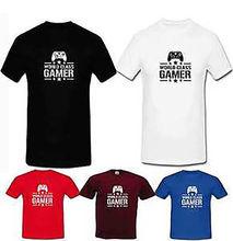 Totó do gamer computador engraçado camiseta para jogos internet de classe  mundial do miúdo adulto roupas Novas Camisas T Engraça. 4a0131902f
