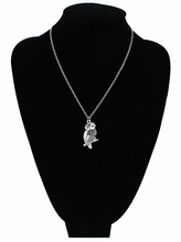 Vintage Owl Pendant & Earrings Women's Jewelry Set