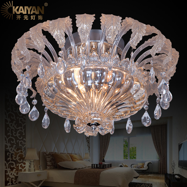 Royal Corolla Crystal Ceiling Hanging Lights Modern Indoor Top ...