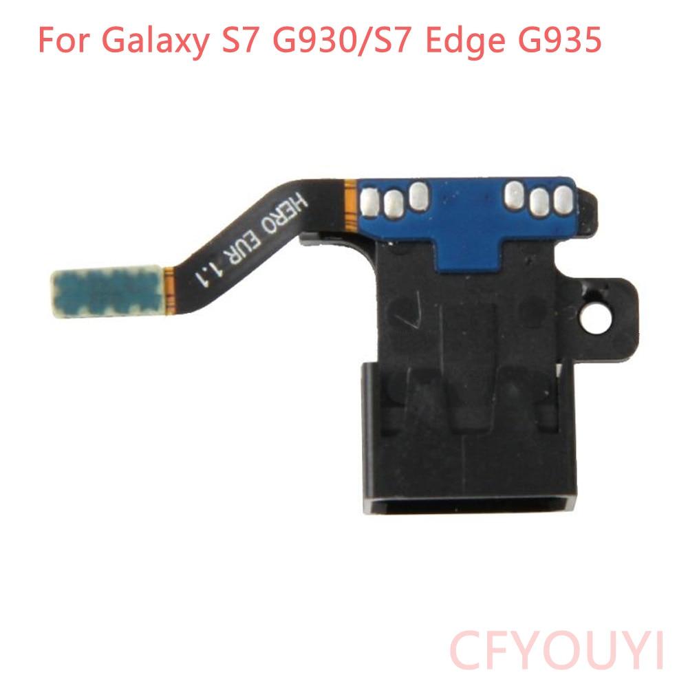 CFYOUYI New For Samsung Galaxy S7 G930 G930F / S7 Edge G935 Earphone Headphone Jack Audio Flex Cable