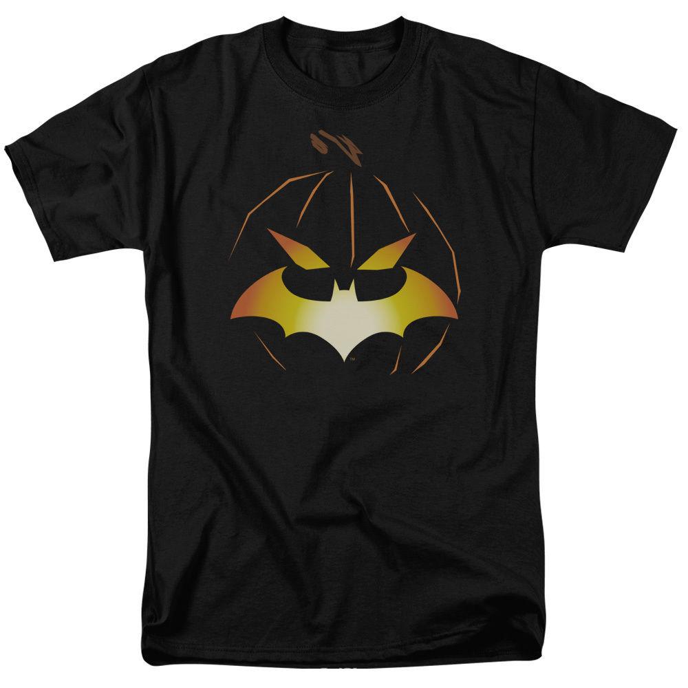 Batman JACK OBAT Bat Logo Pumkin Halloween Licensed T-Shirt All Sizes