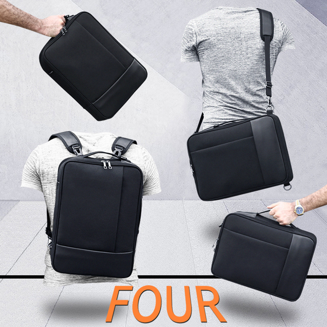 Multifunction Business Backpack Men Male Outdoor Travel Shoulder Bag Laptop 16.5 inch USB Charge Anti Theft Waterproof Backpacks