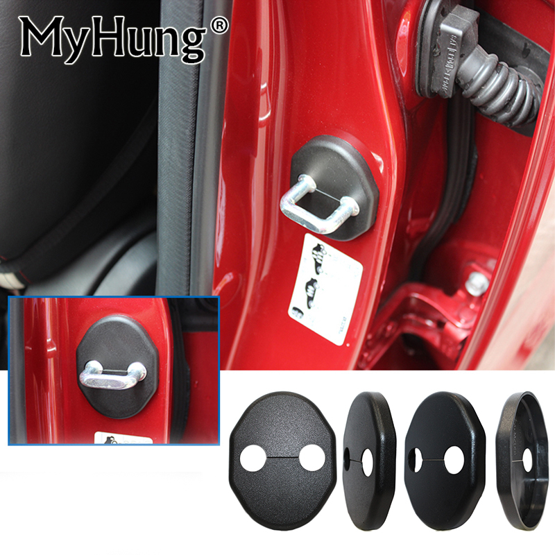 Door Lock Cover for Mazda Cx-5 2012 2013 Mazda Cx5 Mazda 3(2011-2013) Mazda 5(2008-2011) Mazda 2 4pcs per set крышка бензобака 2011 mazda 5