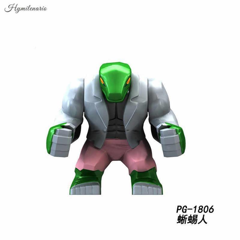 Super Heroes Мстители Бесконечная война большой Размеры Venom Росомаха Джаггернаут строительные блоки Фигура игрушки Совместимость с Lego