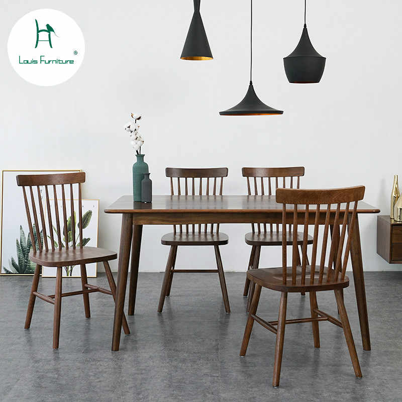 Table Nordic Solid Wood Dining