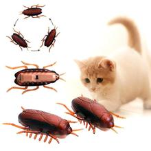 Interactive Electronic Cockroach Cat Intelligence Training Toy Fun Pet Toy Inter