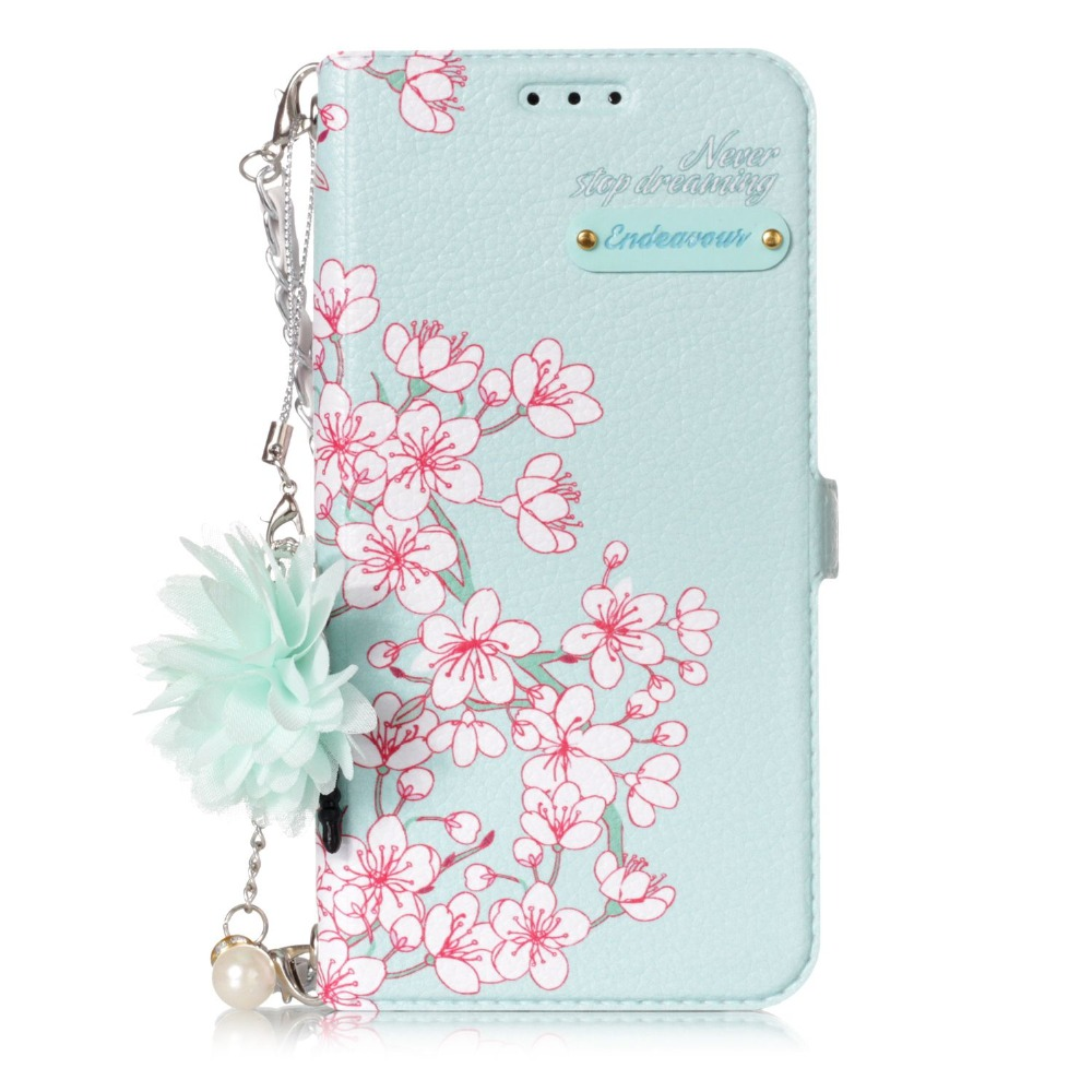 Phone Bags & Cases Go2link Wallet Case For Samsung Galaxy S9 S9plus Fashion Girl Handbag Purse Flip Portable Shoulder Chain Flower Design Cover Cellphones & Telecommunications