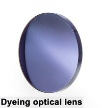 Парой оптический тонированные линзы окрашенная близорукости дальнозоркости Асферические очки по рецепту, устойчивое к царапинам 1,56 1,61 1,67 индекс