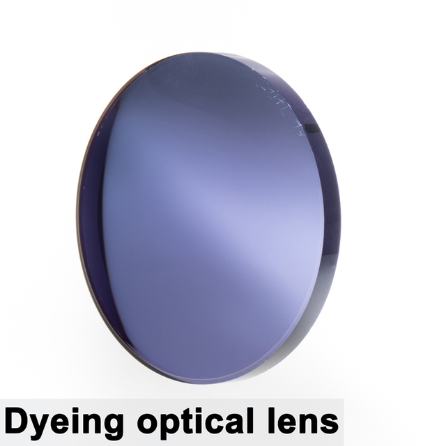 Par de lentes ópticas teñidas para presbicia miopía, graduadas, resistentes A los arañazos, índice 1,56 1,61 1,67