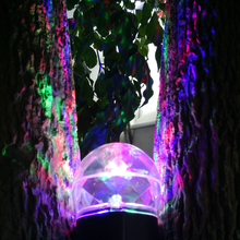 Kaleidoscope Spotlight Rotating Led Light 2 Colors Switchable Light Show Led Magical Ball Light Waterproof for Home,color/white
