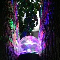 Kaleidoscope Spotlight Rotating Led Light 2 Colors Switchable Light Show Led Magical Ball Light Waterproof For