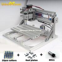 CNC 3018 ER11 DIY Mini CNC3018 Laser Engraving Machine PCB Milling Machine Wood Router Laser Engraving