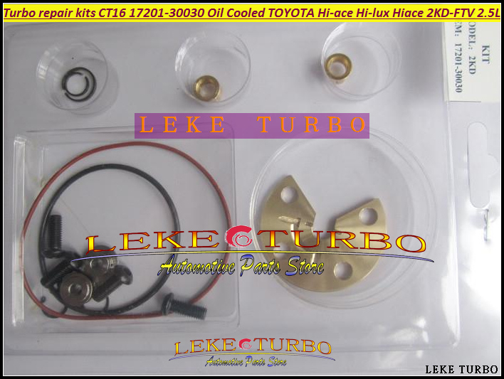 Free Ship Turbo repair kit CT16 17201-30030 17201 30030 1720130030 For TOYOTA Hi-ace Hi-lux Hiace Hilux Pickup 2KD-FTV 2.5 D4D