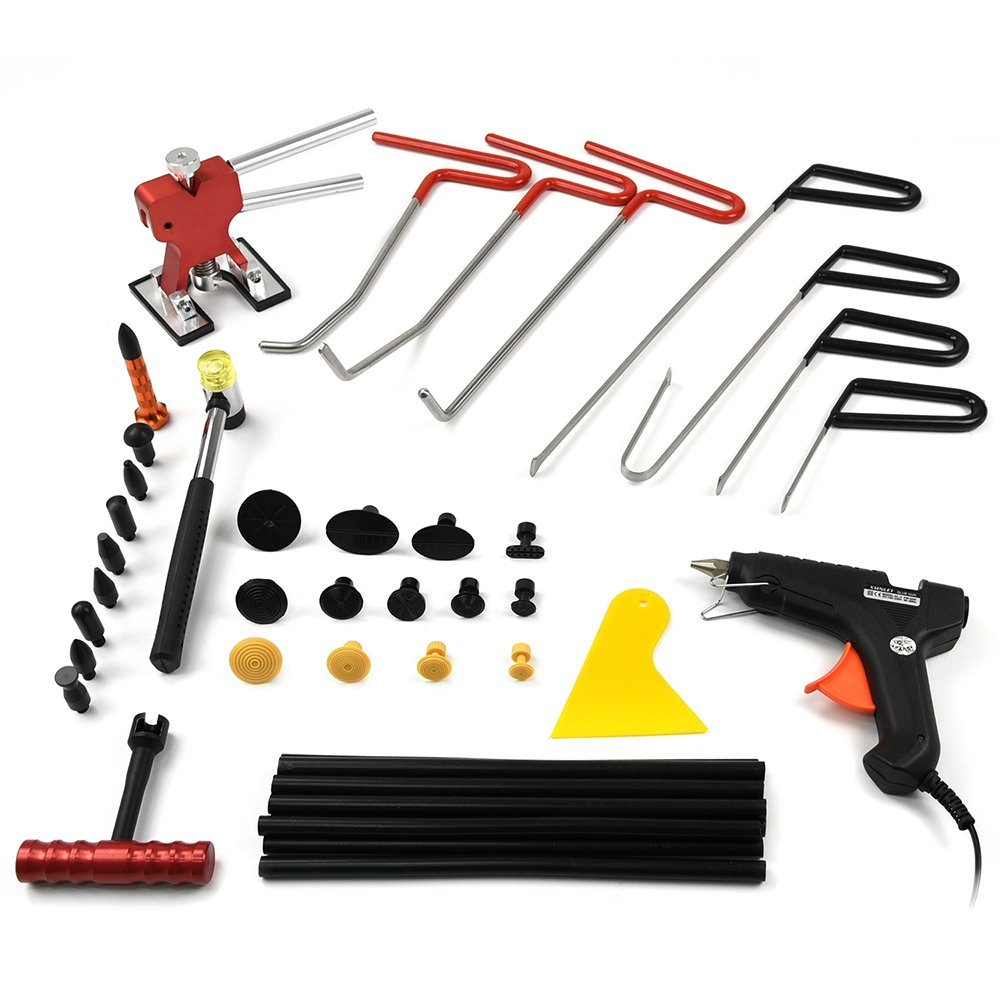 PDR Rods Auto Body Dent Remover Tools Car Body Paintless Dent Repair Tools Dent Puller Dent Repair Kit PDR Tools spot welding stud welder electric cable car spotter consumable hand tools body dent repair puller remover fix machine equipment