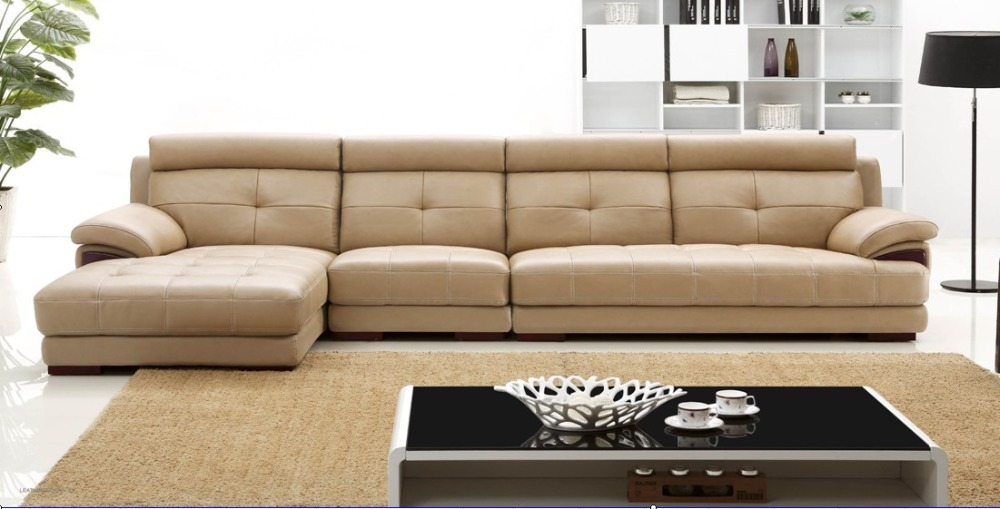2015 China new model living room furniture corner sofa set design ...