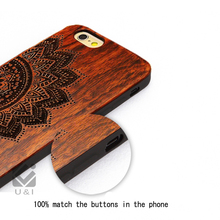 Brand New Wood Phone Cases with Cover Wooden High Quality Shockproof Protector