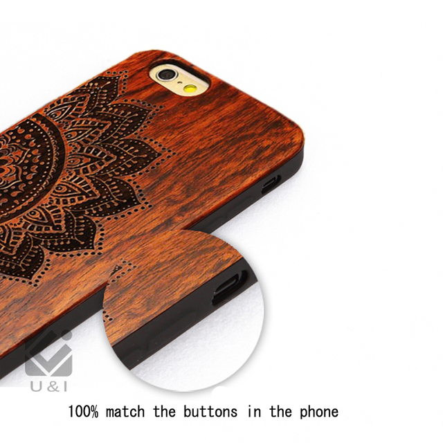 High Quality Wood Case For Iphone