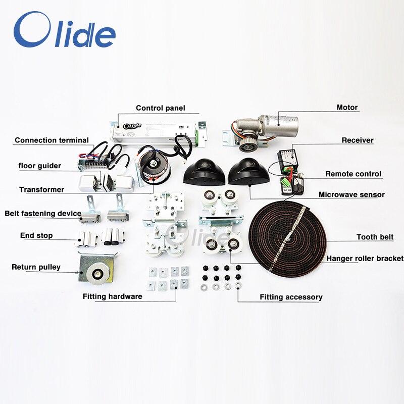 Elettrico Porta Scorrevole Operatore, Residenziale e Commerciale Automatico Porta Scorrevole Operatori