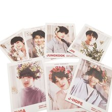 7pcs/set K-pop BTS LOVE YOURSELF ANSWER Photo Cards New Album Photocard Lomo Cards(China)