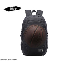 Outdoor Men Multifunction Big Capacity Basketball Backpack Anti Theft Waterproof Office Dedicated Book Bag USB Charging