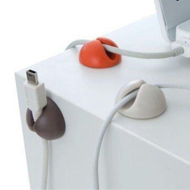 3PCS/lot Multipurpose Cable Wire Organizer Cable Clip Tidy USB ...