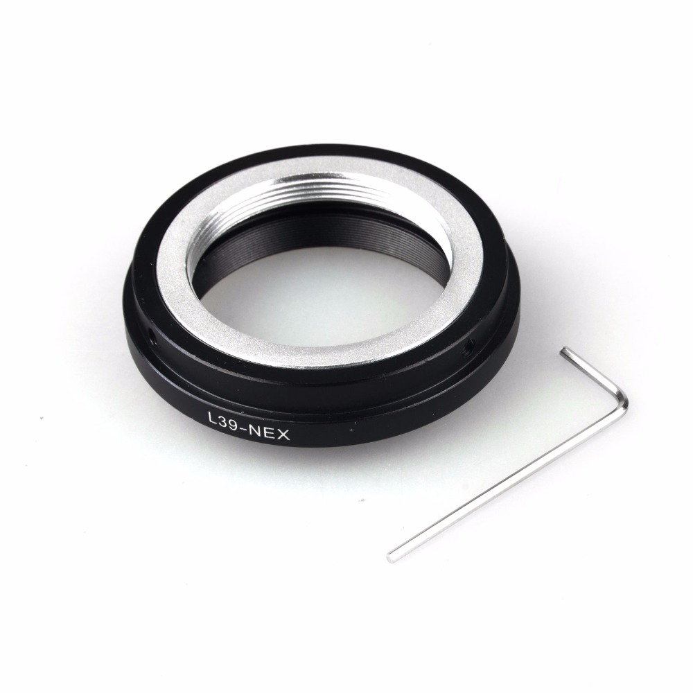 Lens Mount Adapter Ring pour Leica M39 L39 Objectif AI NEX-5 NEX-3 E Mount Adapter