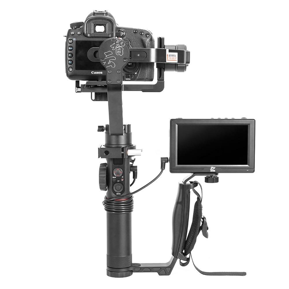 лучшая цена Zhiyun 5.5'' Camera LCD Monitor + Zhiyun Mini Dual Grip for Zhiyun Crane 2 Crane V2 Crane M Gimbal Stabilizer