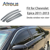 Atreus 1set ABS For 2013 2012 2011 Chevrolet Epica Accessories Car Vent Sun Deflectors Guard Smoke Window Rain Visor