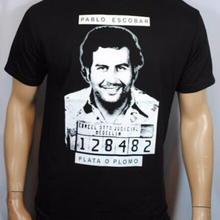 9229d5fd King Of Coke Pablo Escobar Narcos Men's T Shirt Hip Hop Camisetas Tee Shirt  Joaquin Guzman