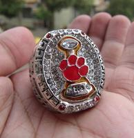 Free Shipping 2015 CLEMSON TIGERS ACC FOOTBALL CHAMPIONSHIP RING Solid Size 11 Fan Brithday Gift Wholesale