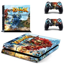 лучшая цена Grand Knack 2 PS4 Skin Sticker Decal Vinyl for Sony Playstation 4 Console and Controller PS4 Skin Sticker