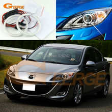 For mazda 3 mazda3 BL SP25 MPS 2009 2010 2011 2012 2013 Excellent Ultra bright illumination smd led Angel Eyes Halo Ring kit