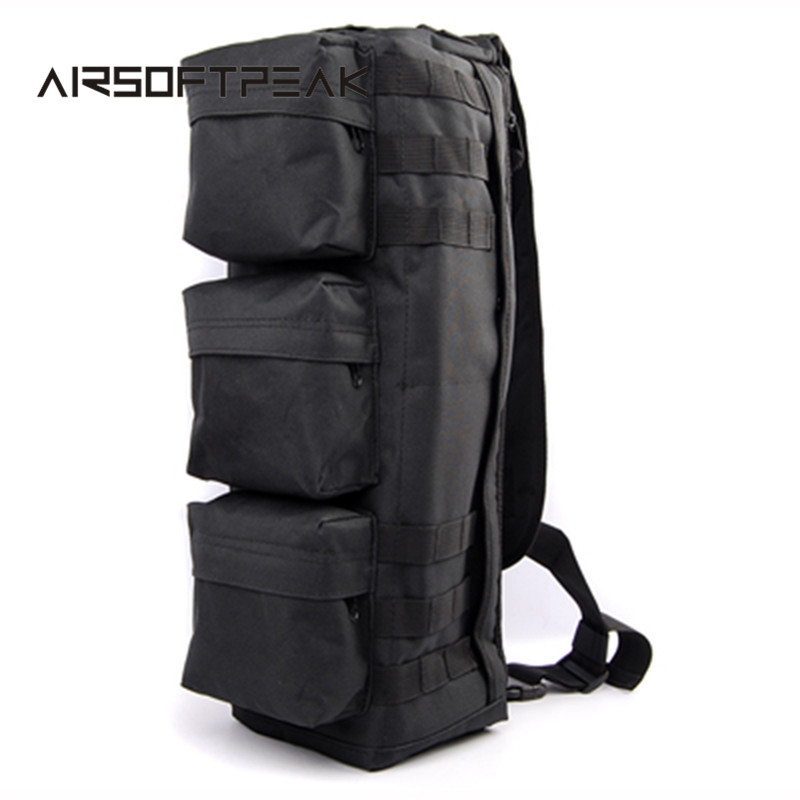 ФОТО AIRSOFTPEAK Tactical MOLLE Assault Go Bag Single Shoulder Backpack Military Hiking Camping Pack Outdoor Hunting Bags