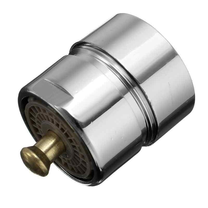 Mrosaa Hemat Air Aerator Valve Kontrol Satu Sentuhan Keran Aerator Thread Pria 23.6 Mm Pendingin Pembersih Dapur Aksesoris